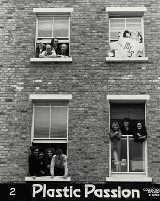 Image of SPL's first office, above the record shop Plastic Passion, at 2 Blenheim Crescent W11