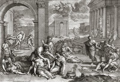 Plague victims, historical artwork - Stock Image - C006/9704 ...