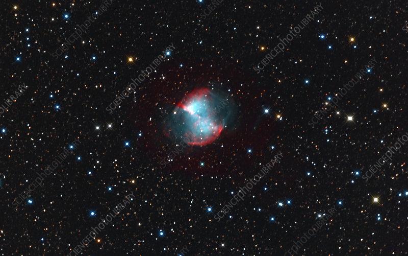 M27 The Dumbbell Nebula Stock Image C012 4251 Science Photo