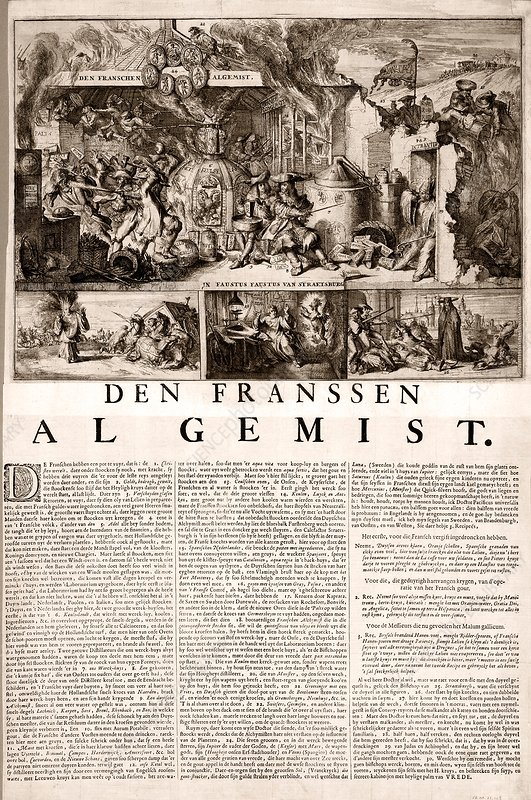 17th Century Political Satire Artwork Stock Image C013 9556