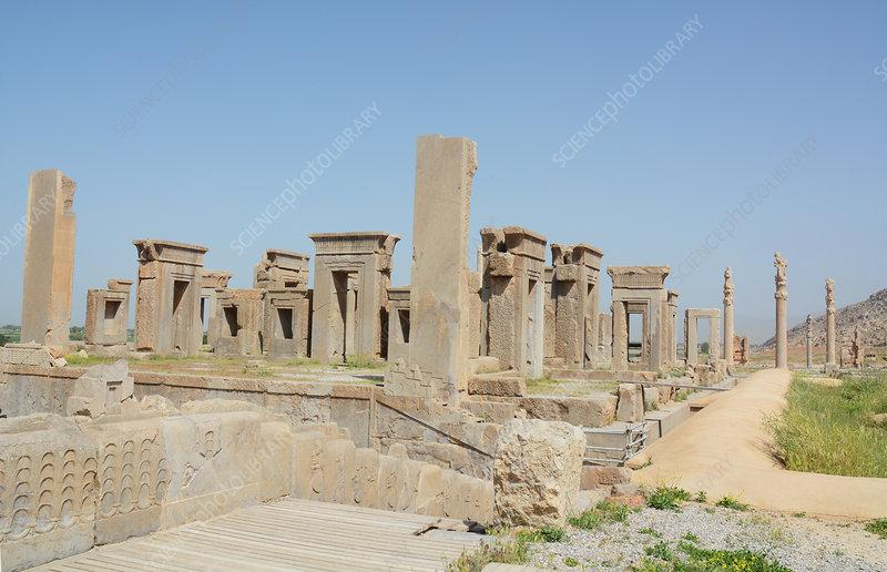Ancient Persepolis Iran Stock Image C027 5731 Science Photo Library