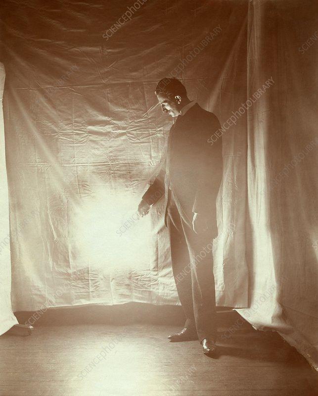 Nikola Tesla Serb Us Physicist Stock Image C034 5161 Science