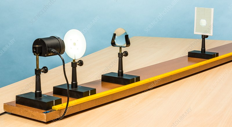 Classroom Optical Bench Stock Image C035 9550 Science Photo Library
