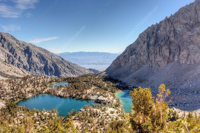 Onion Valley Sierra Nevada Mountain Range Usa Stock Image C036 0929 Science Photo Library