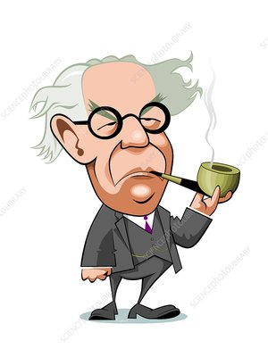 Jean Piaget, Swiss psychologist - Stock Image - C038/9556 - Science Photo  Library