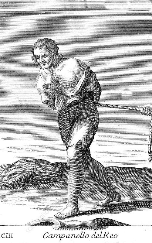 Public Humiliation, 1723 - Stock Image - C044/6794 - Science Photo ...