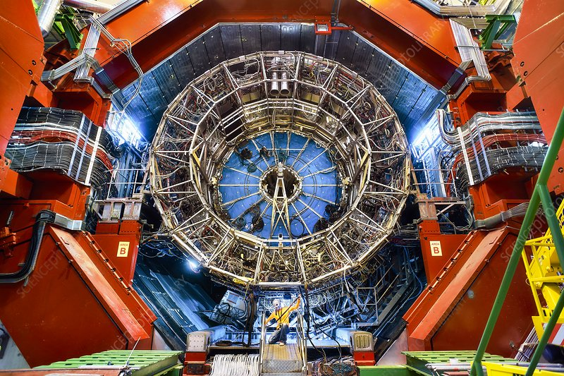 ALICE detector during Long Shutdown 2 at CERN - Stock Image - C046/2658 - Science Photo Library