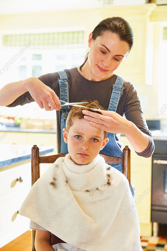 Getting A Haircut 62