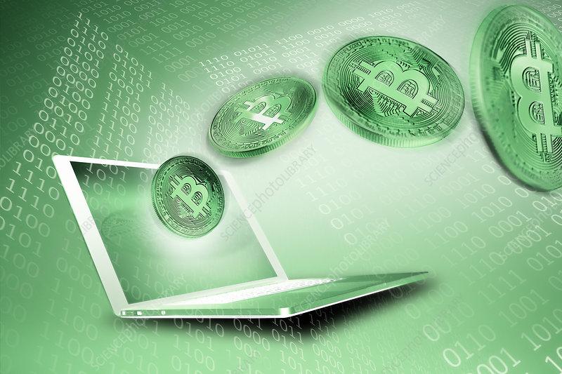 green bitcoins