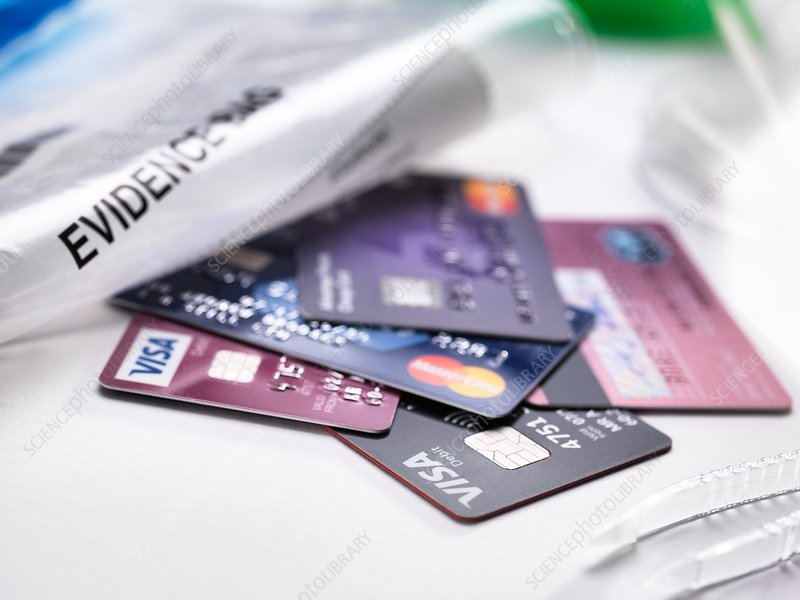 Credit Card Fraud - Stock Image - F023/7174 - Science Photo Library