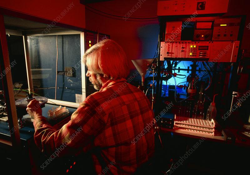 Radio karbon dating analyse