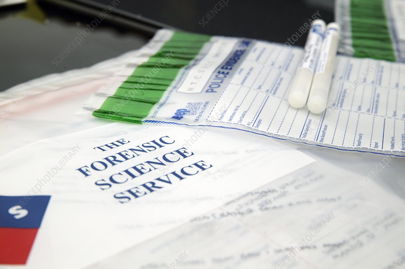 Forensic Evidence Stock Image H200 0229 Science Photo Library