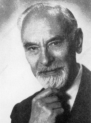 Ludwig Prandtl, German engineer - Stock Image - H416/0293 - Science Photo  Library