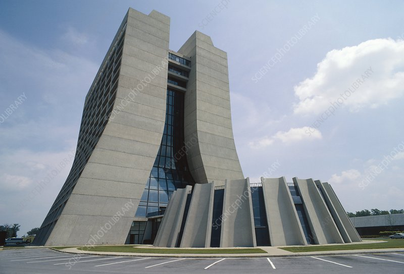 View of Fermilab administration building