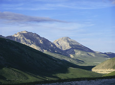 Mountains above Gran Sasso Lab