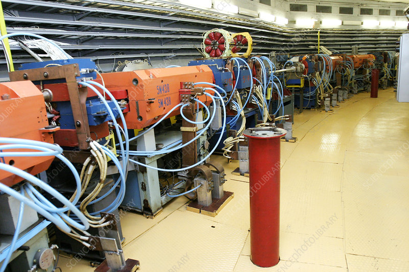 Synchrotron particle accelerator