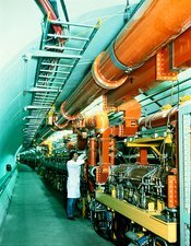 SPS accelerator at CERN