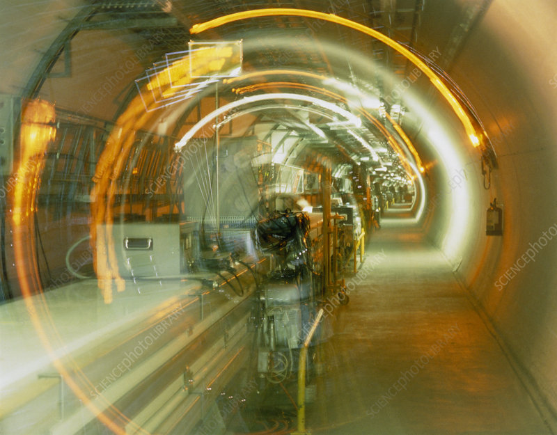 LEP collider tunnel, CERN