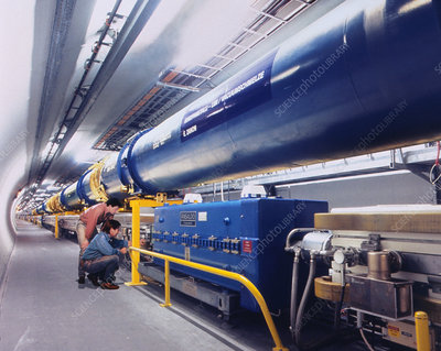 Composite image of Large Hadron Collider