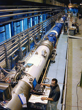 Prototype section of LHC