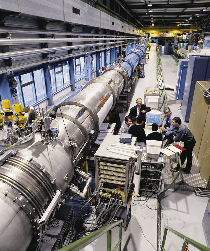 LHC particle accelerator magnets
