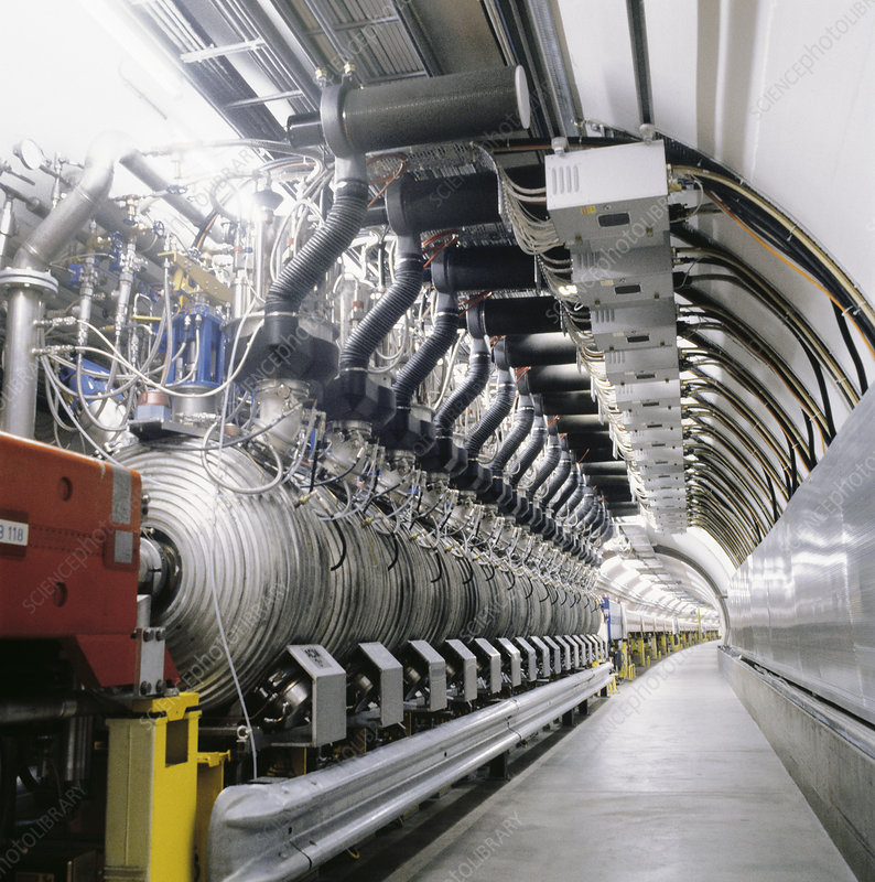 SPS particle accelerator, CERN