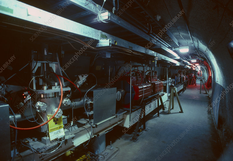 The Stanford Linear Accelerator tunnel
