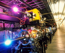 PEP-II particle collider, SLAC
