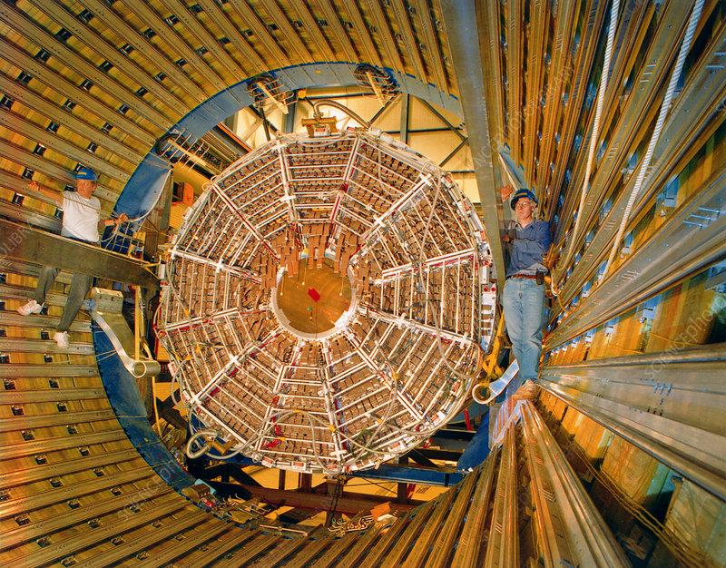 STAR particle detector, Brookhaven