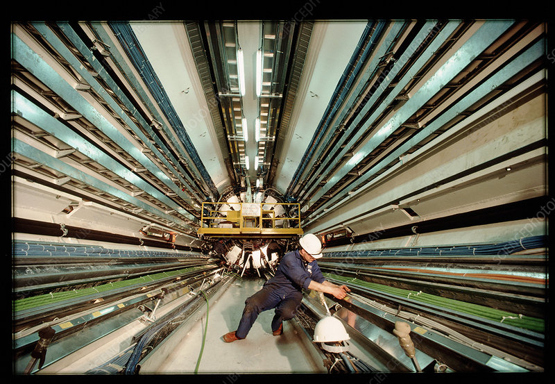 Technician in L3 detector at CERN