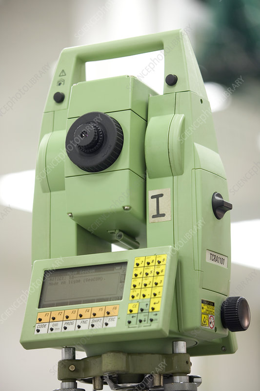 Theodolite for construction of CMS, CERN