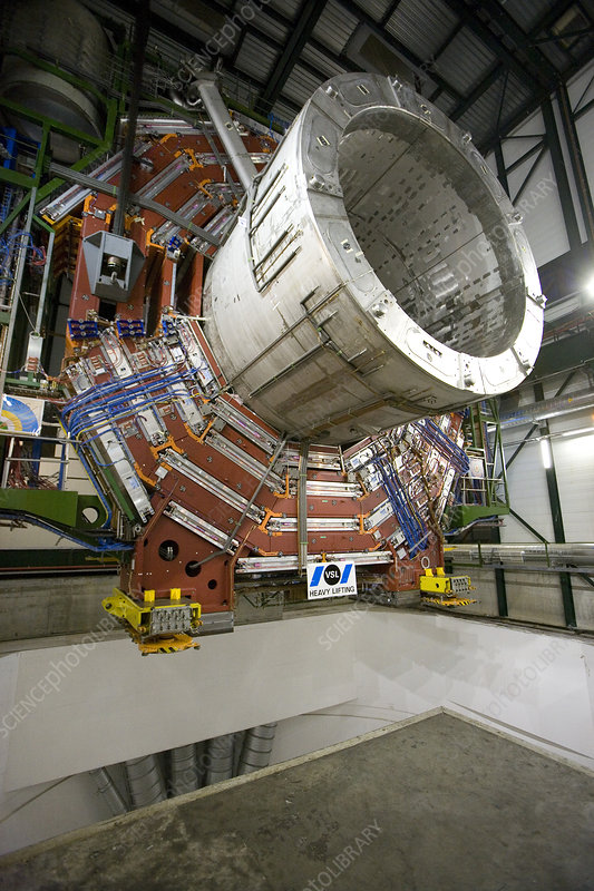 A section of the CMS detector, CERN