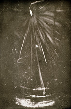 One of the first cloud chamber photos