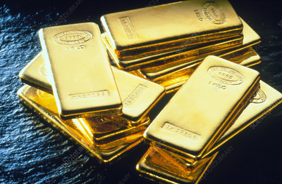 1-kilo bars of gold