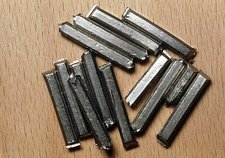 Bars of niobium metal