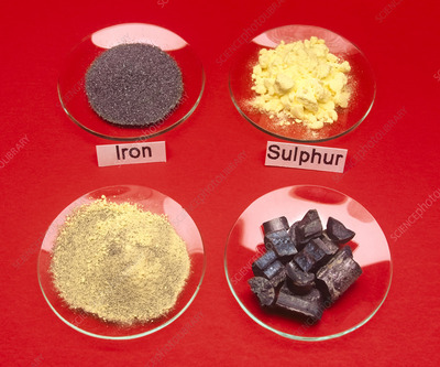 Iron and sulphur