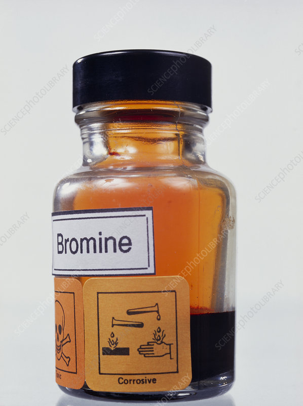 Bromine Stock Image A1500311 Science Photo Library