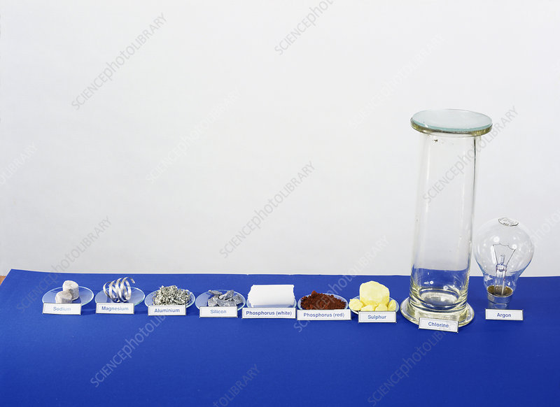 Period 3 Elements Stock Image A150 0350 Science Photo