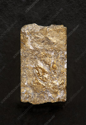 Gold core sample
