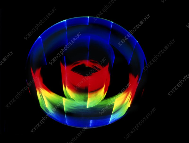 Circular diffraction pattern