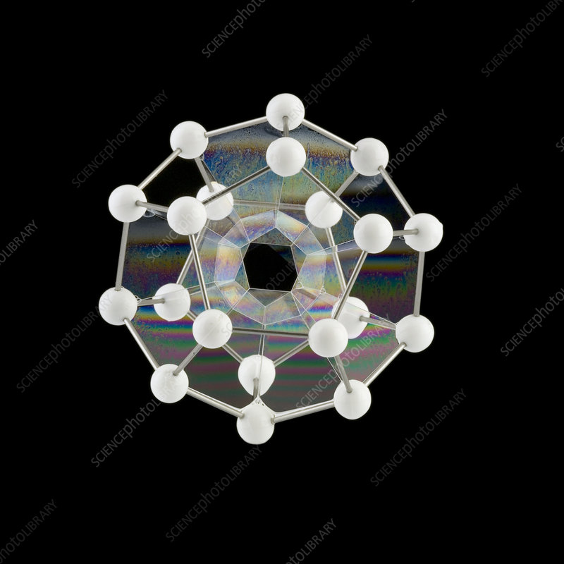 Soap bubbles on a dodecahedral frame