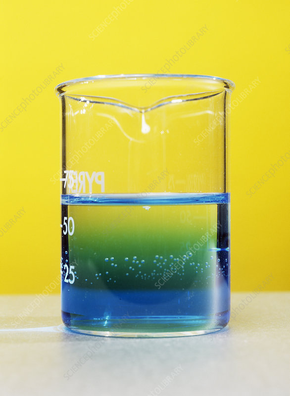 Blue ink diffusing in water