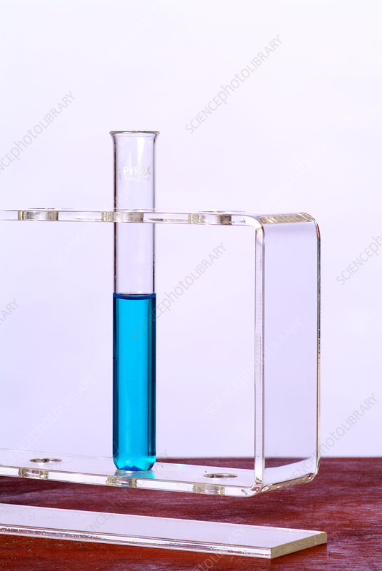 Copper sulphate solution