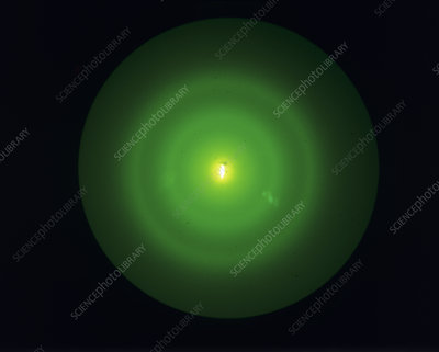 Electron diffraction pattern