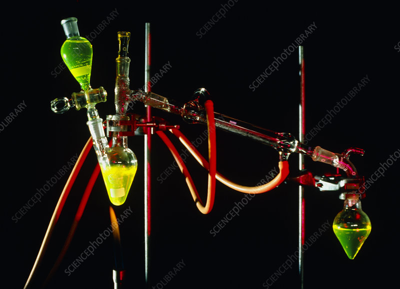 Apparatus used for chemical distillation
