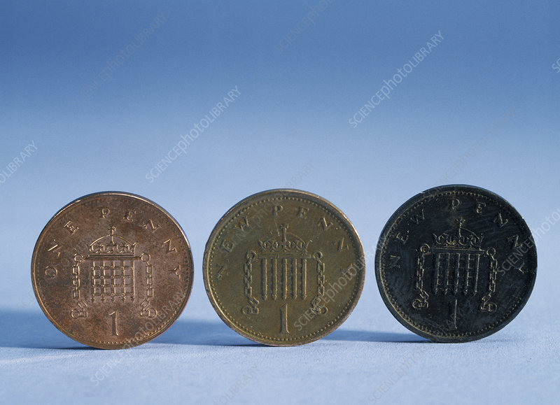 Coins of various ages