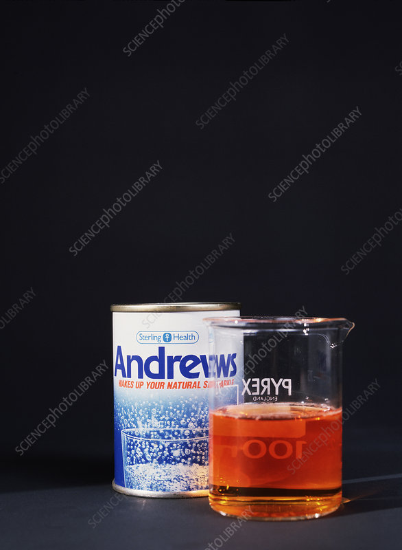 Liver salts with indicator