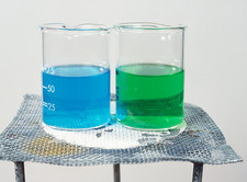 Two copper oxide reactions