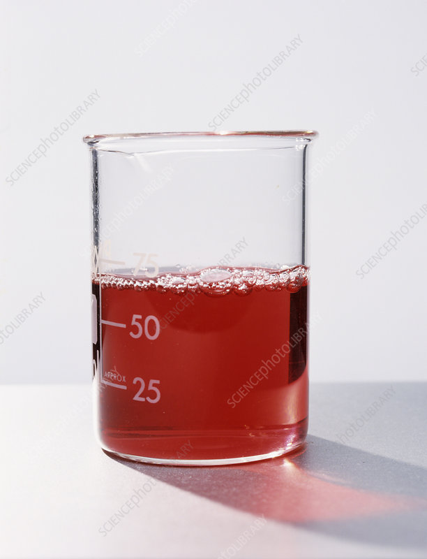 Blackcurrant juice indicator