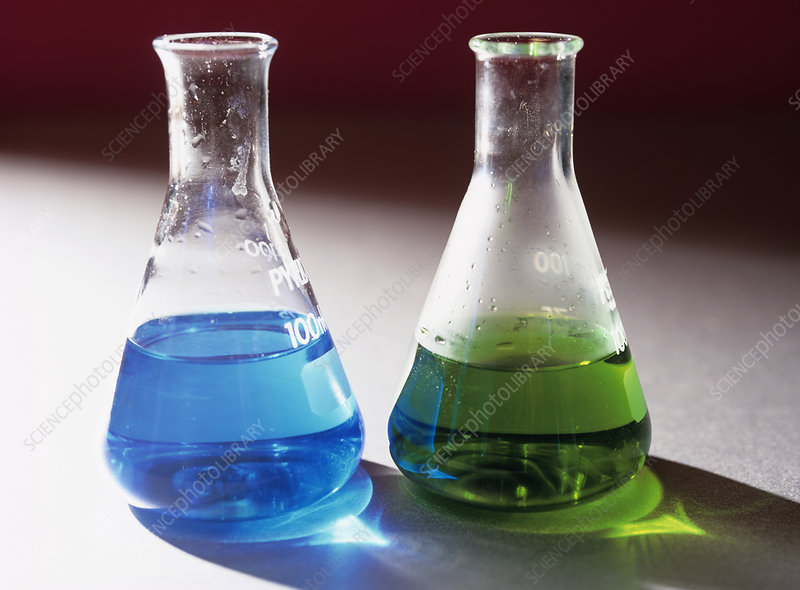 Copper sulphate reaction